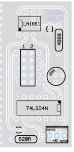 PCB overlay